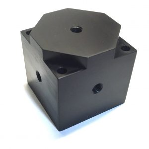 Triaxial mounting cubes